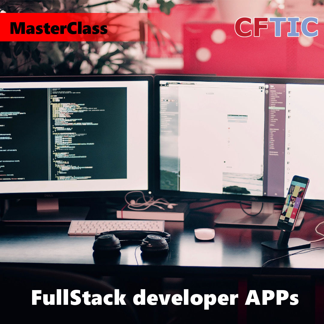 MasterClass sobre fullstack developer APPs