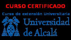 Curso online certificado por la Universidad de Alcalá.
